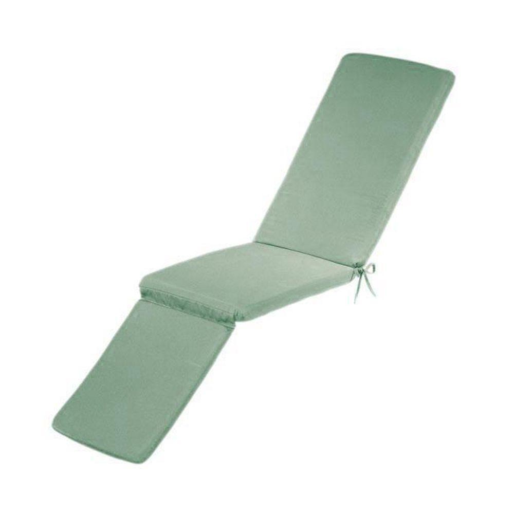 Home Decorators Collection Sunbrella Mist Outdoor Chaise Lounge Cushion