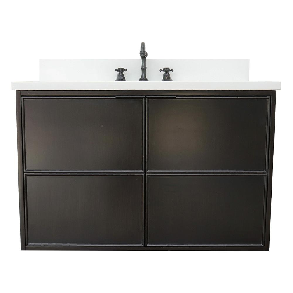 Scandi IV 37 in. W x 22 in. D Wallmount Bath