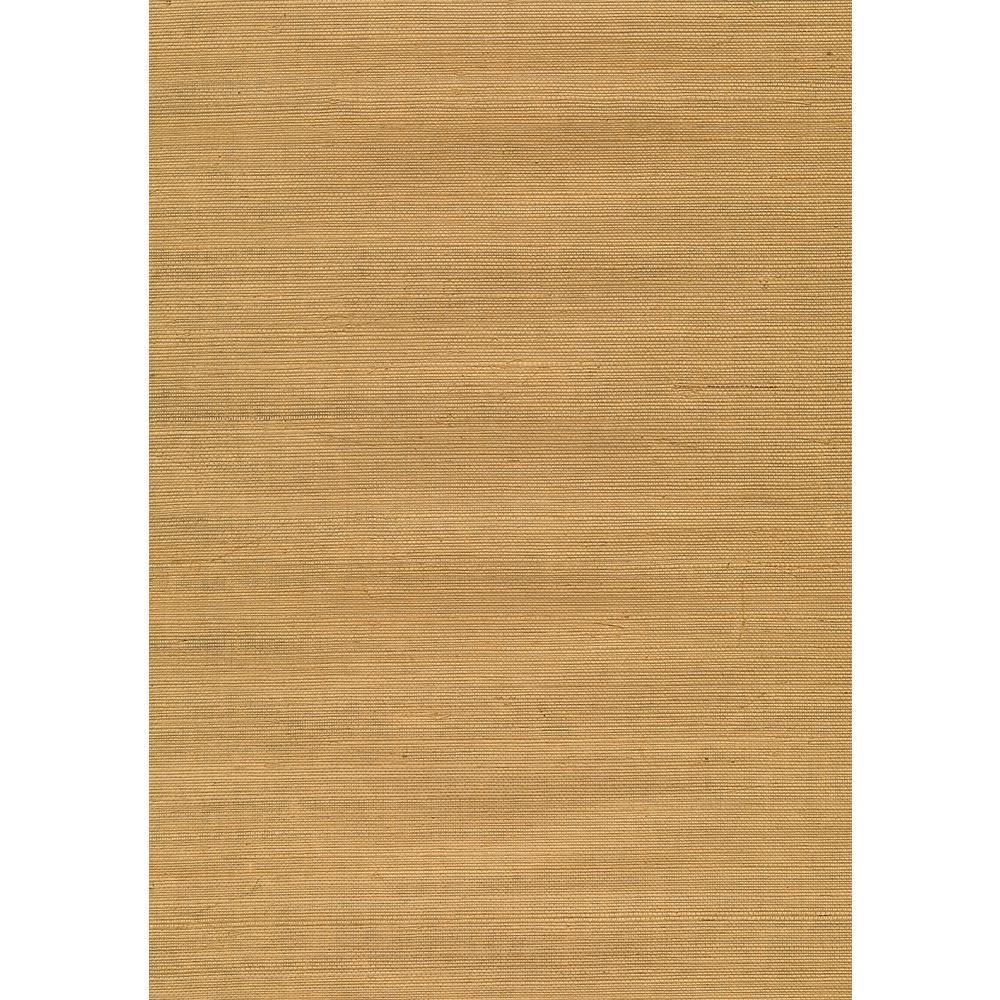 8 in. x 10 in. Airi Beige Grasscloth Wallpaper Sample