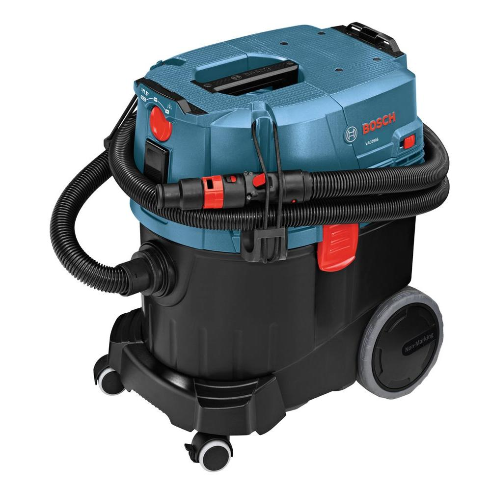 Bosch 9 Gal Corded Dust Extractor Wet Dry Vac With Semi