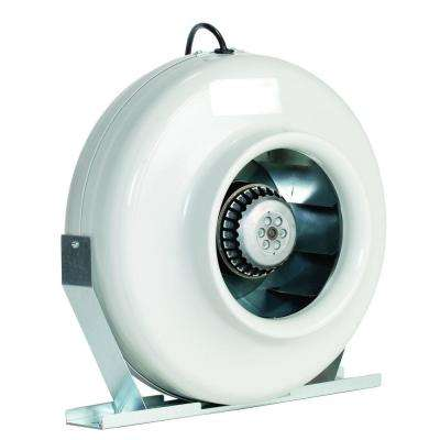 S 800 8 in. 483 CFM Ceiling or Wall Can Bathroom Exhaust Fan