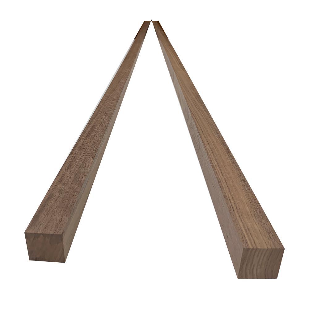 2 in. x 2 in. x 8 ft. Walnut S4S Board (2-Pack)