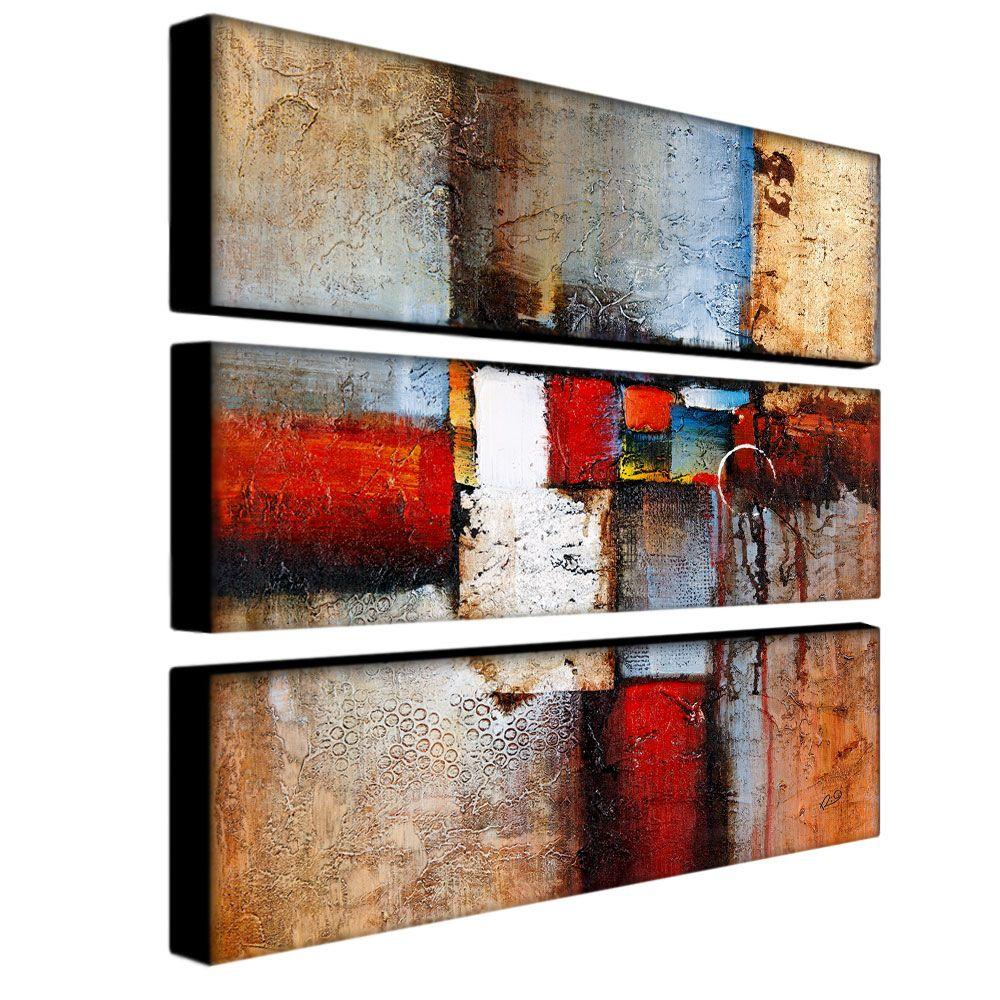 trademark fine art 32 in x 10 in cube abstract vi 3piece