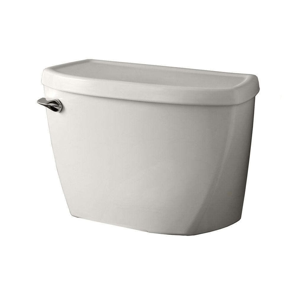American Standard Cadet Pressure-Assisted FloWise 1.1 GPF Single Flush Toilet Tank Only in White