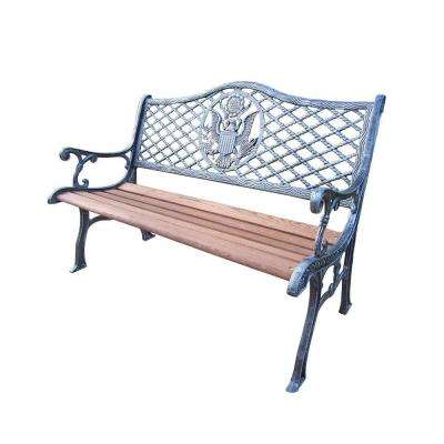 American Eagle Patio Bench