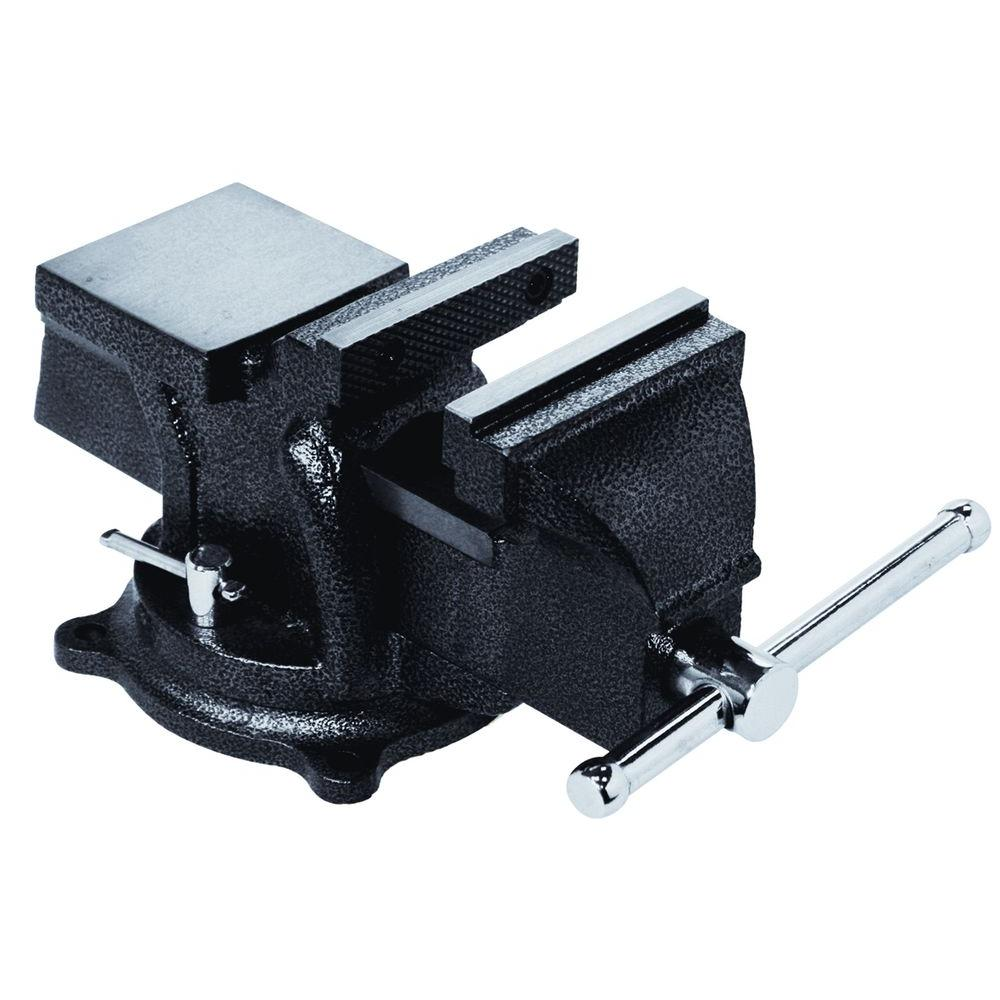 bessey 4 in. heavy-duty bench vise with swivel base