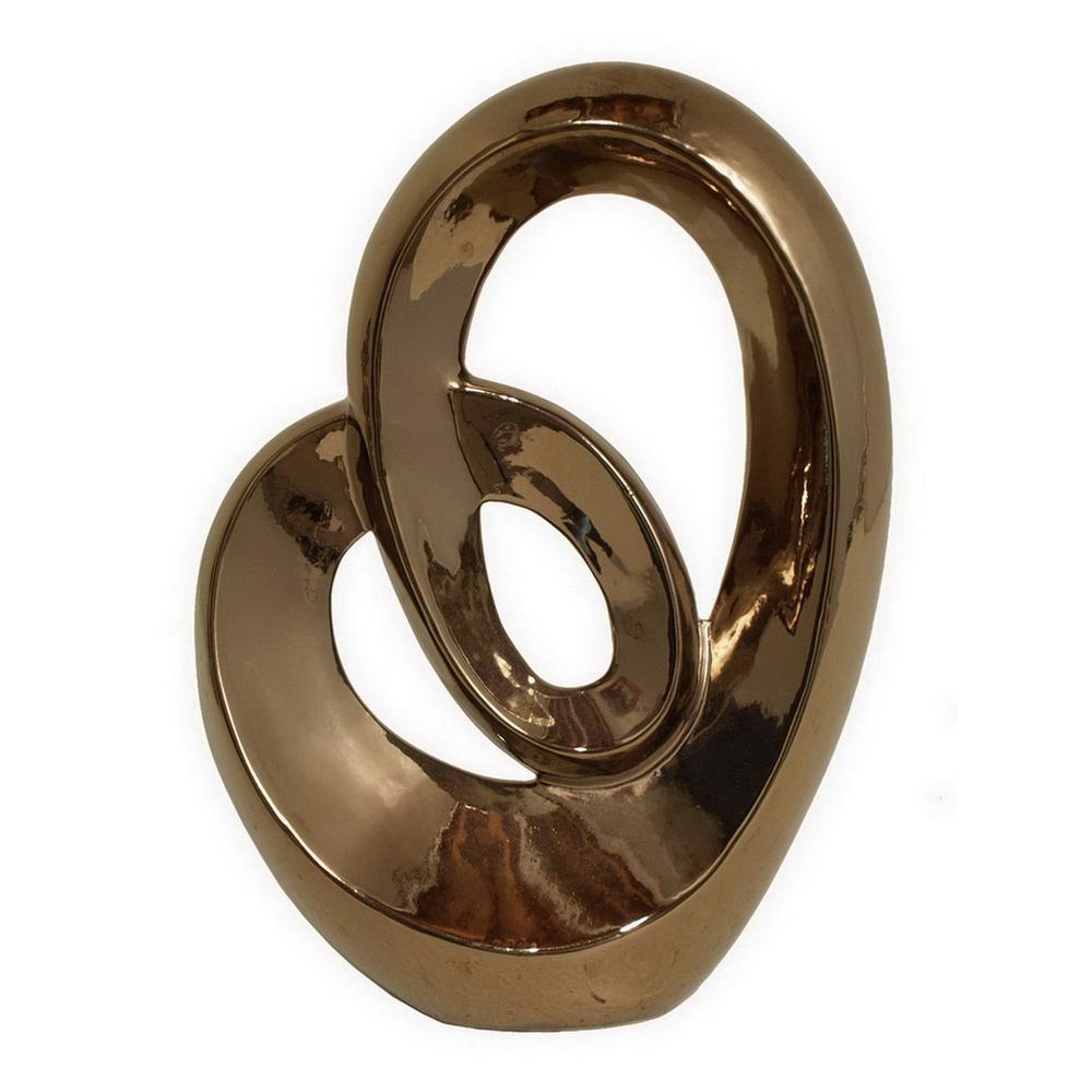11 in. Bronze Ceramic Sculpture