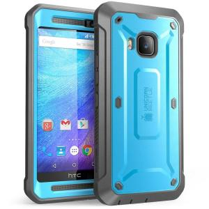 SUPCASE Unicorn Beetle Pro Full-Body Rugged Case for HTC One M9, Blue/Black by