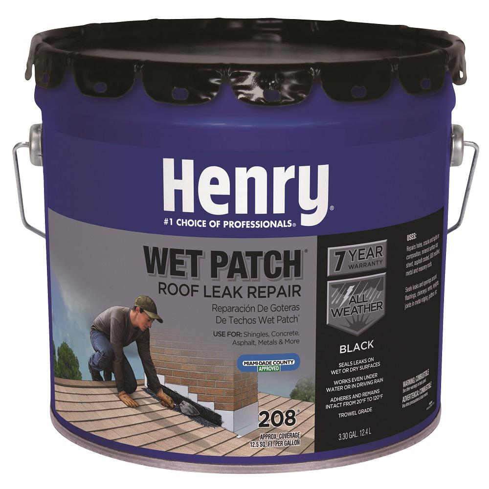 Henry 3.30 Gal. 208 Wet Patch Roof Cement