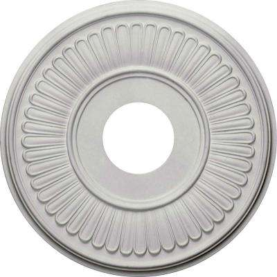 15-3/4 in. O.D. x 3-7/8 in. I.D. x 3/4 in. P Berkshire Ceiling Medallion