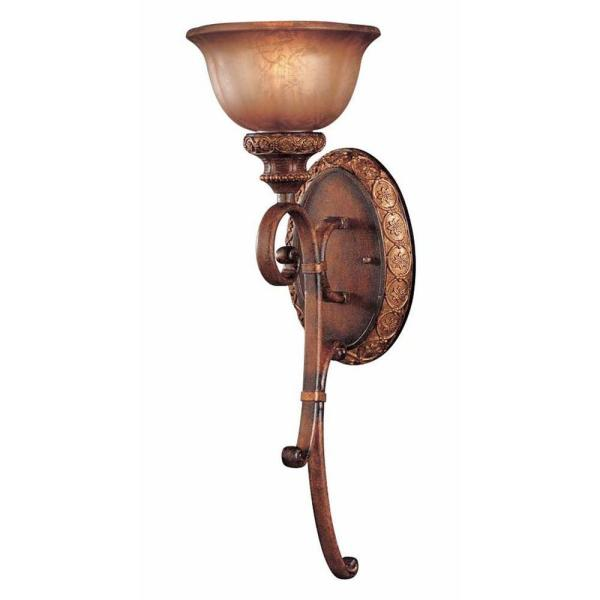 Illuminati 1-Light Illuminati Bronze Sconce