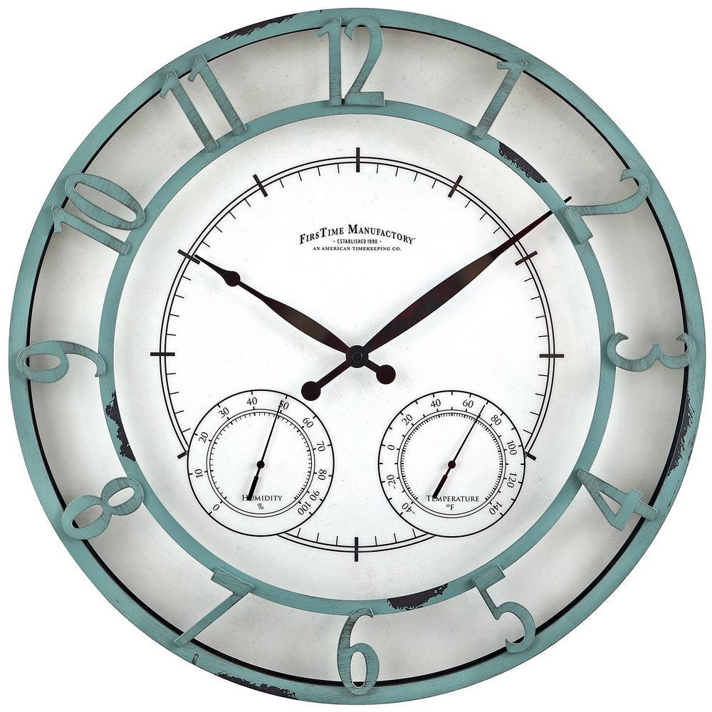 18 in. Round Laguna Outdoor Clock