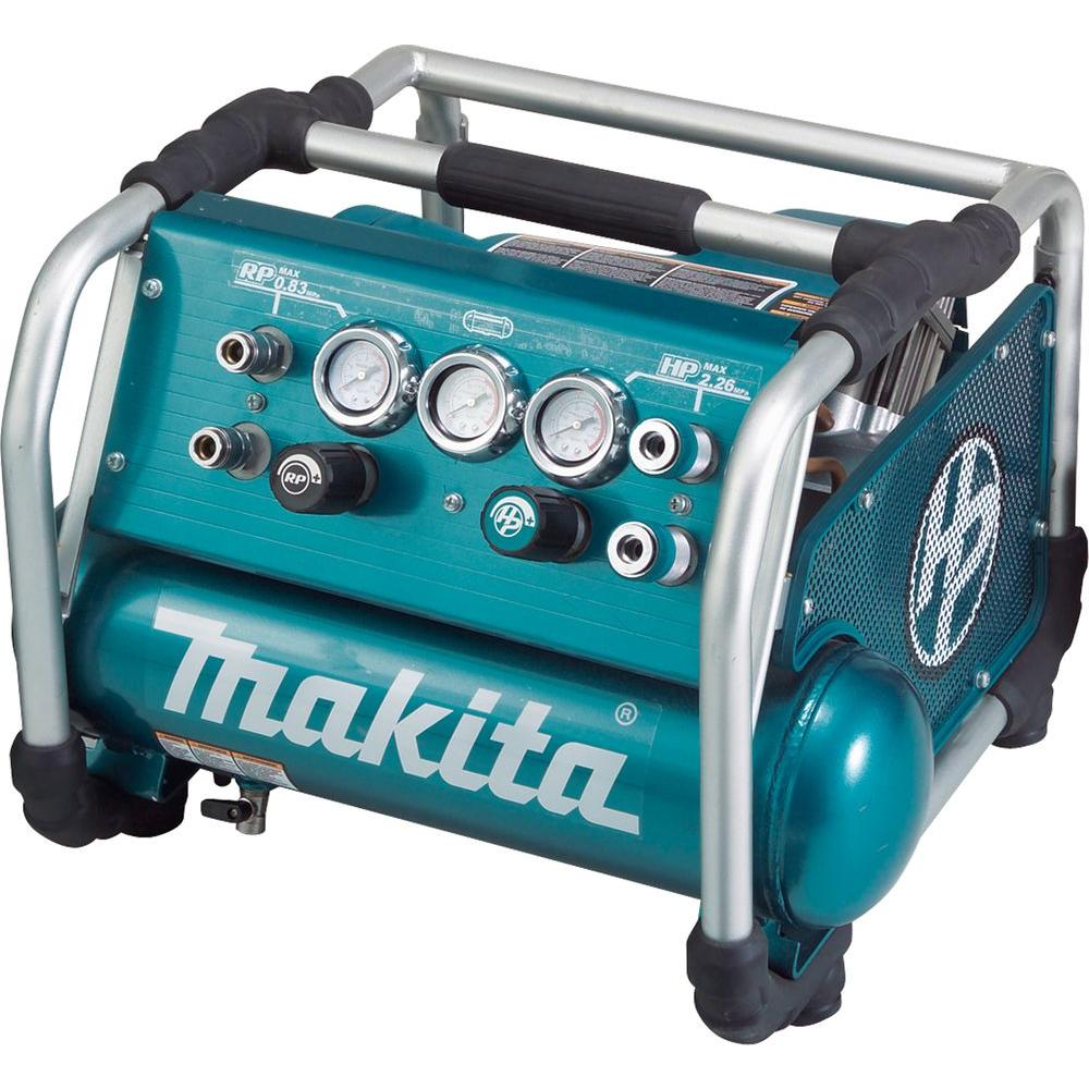 Makita 1.6 Gal. 2.5 HP High Pressure Portable Electrical ...