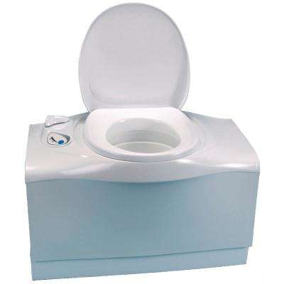 5.1 Gal. Electric Flush Cassette RV Toilet with Right Hand Flush