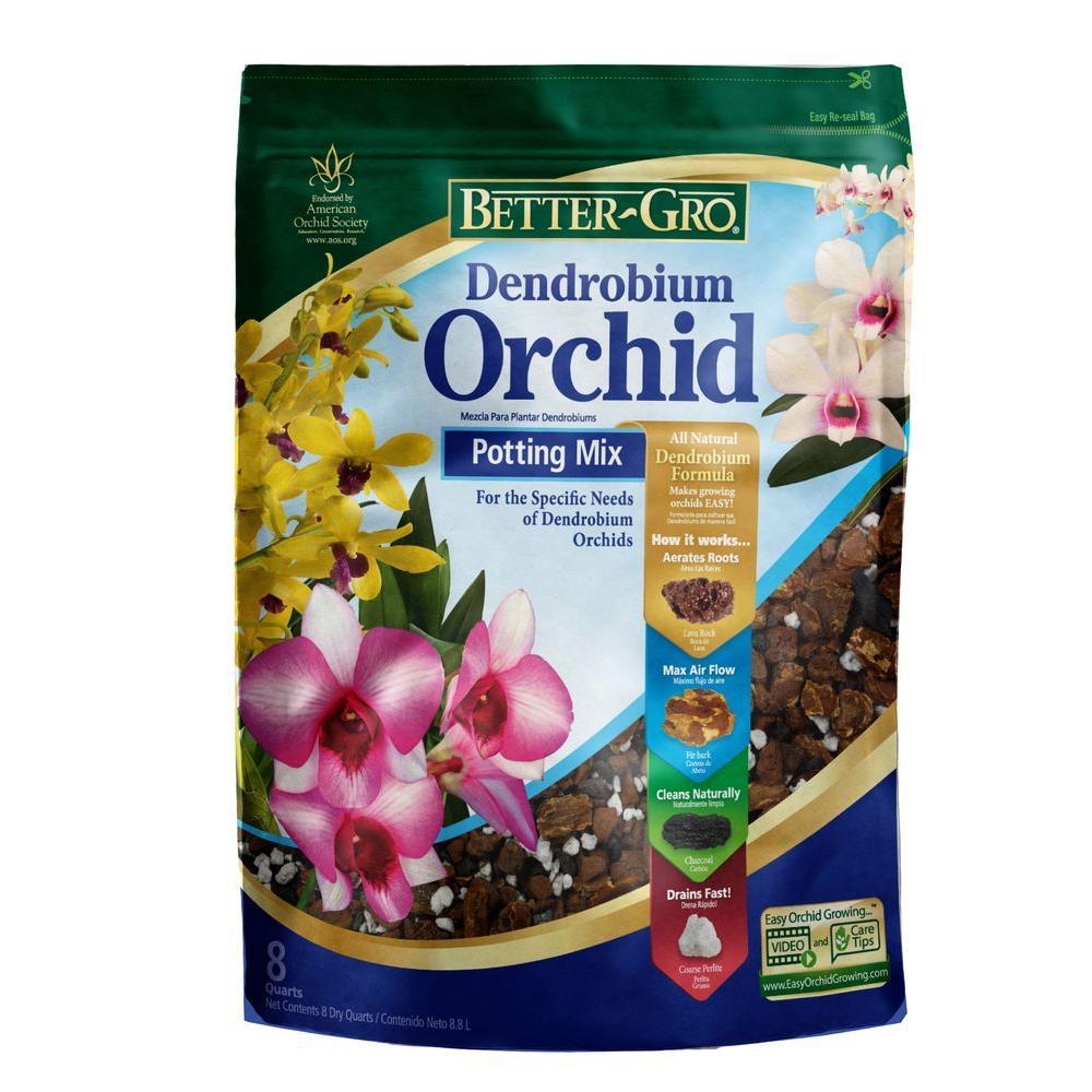 Better-Gro 8 Qt. Dendrobium Mix