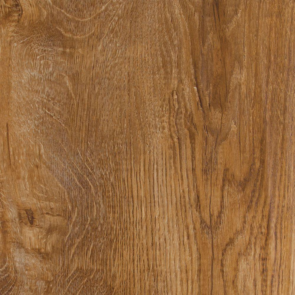 TrafficMASTER Hand Scraped Santa Clara Oak 8 mm Thick x 9-1/4 in. Wide x 47-7/8 in. Length Laminate Flooring (24.60 sq. ft. / case)