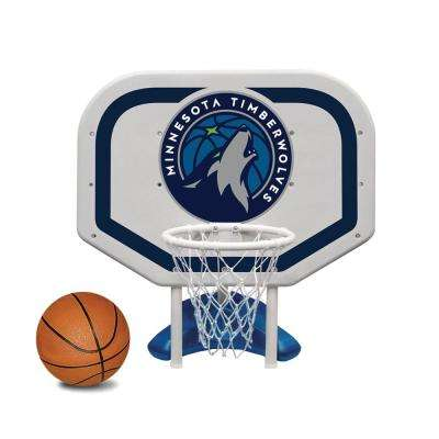Minnesota Timberwolves NBA Pro Rebounder Swimming Pool Basketball Game