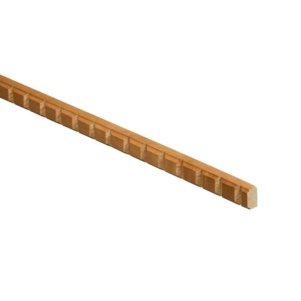 Home Decorators Collection 3x30x0.75 in. Filler Strip in Chocolate Glaze