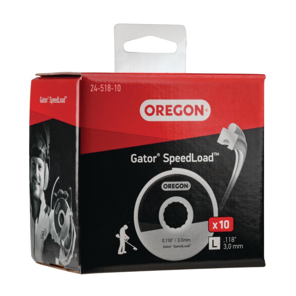 0.118 in. Gator SpeedLoad LG Trimmer Line (10-Pack)