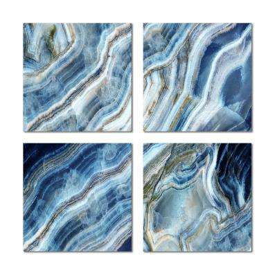 6 in. x 6 in. x 6 mm Upscale Designs Crystal Glass Mosaic Wall Tile ( 7.8 sq.ft. / Case)