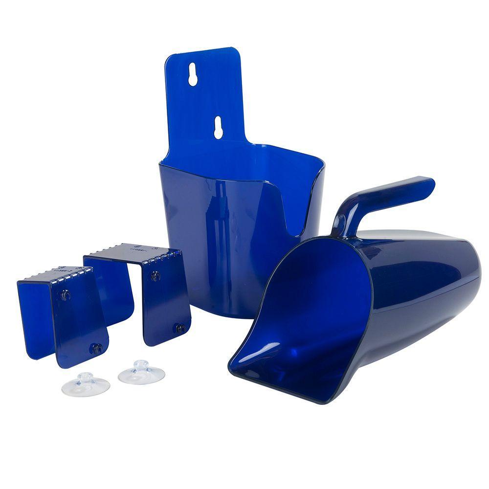 Carlisle Secure Shield Scoops 64 oz. Blue Scoop Kit