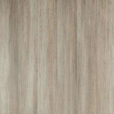 Bay Point 7 mm T x 5.2 in W x 36.22 in L Waterproof Engineered Click Bamboo Flooring (13.07 sf/case)