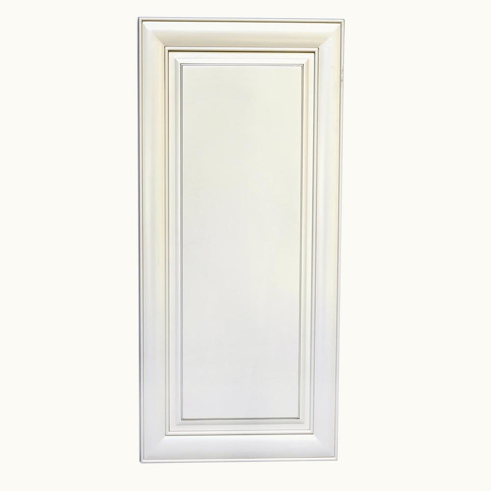 Antique White Kitchen Cabinets At Home Depot: Plywell Holden Ready To Assemble 9x36x12 In. High Single