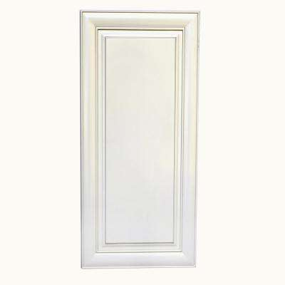 Plywell Holden Ready to Assemble 21x36x12 in. High Single Door Wall Cabinet in Antique White