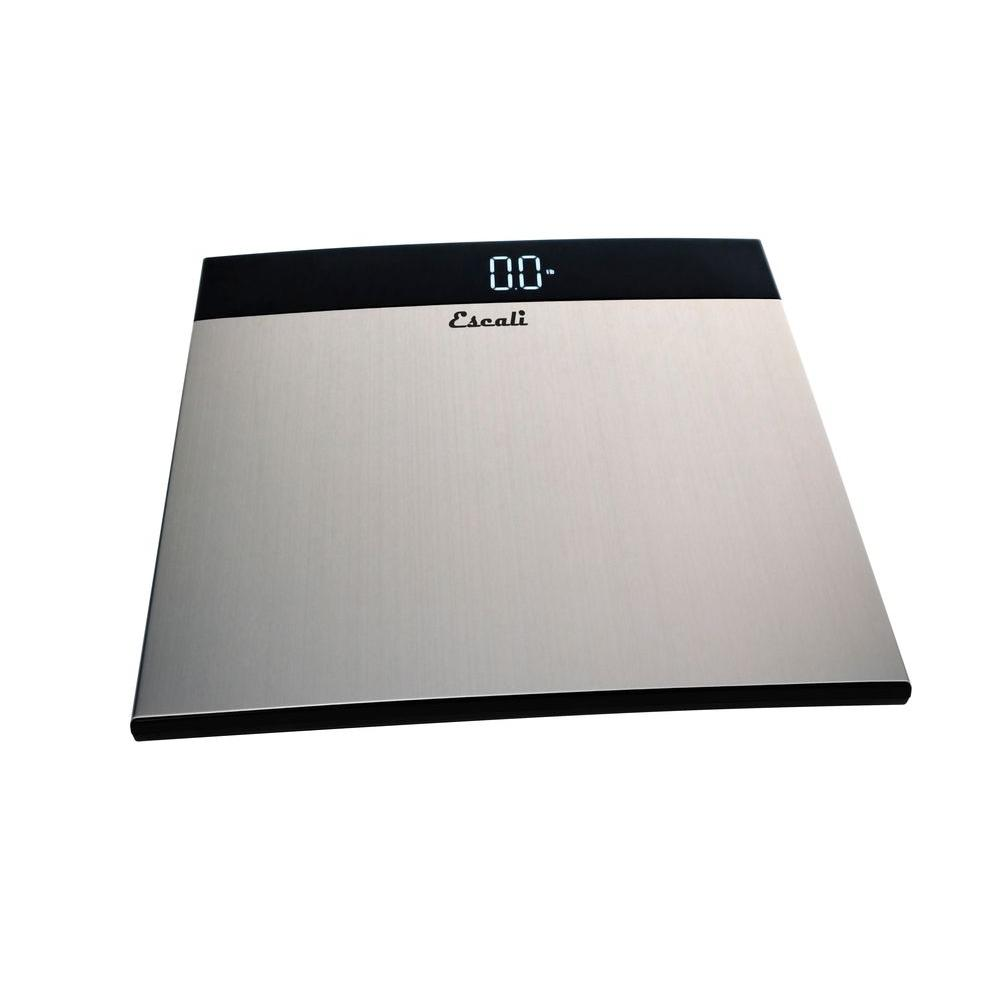 Escali Digital Extra Large Stainless Steel Bathroom Scale