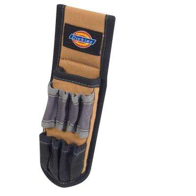 5-Pocket Pliers Pouch and Small Tool Holder, Tan