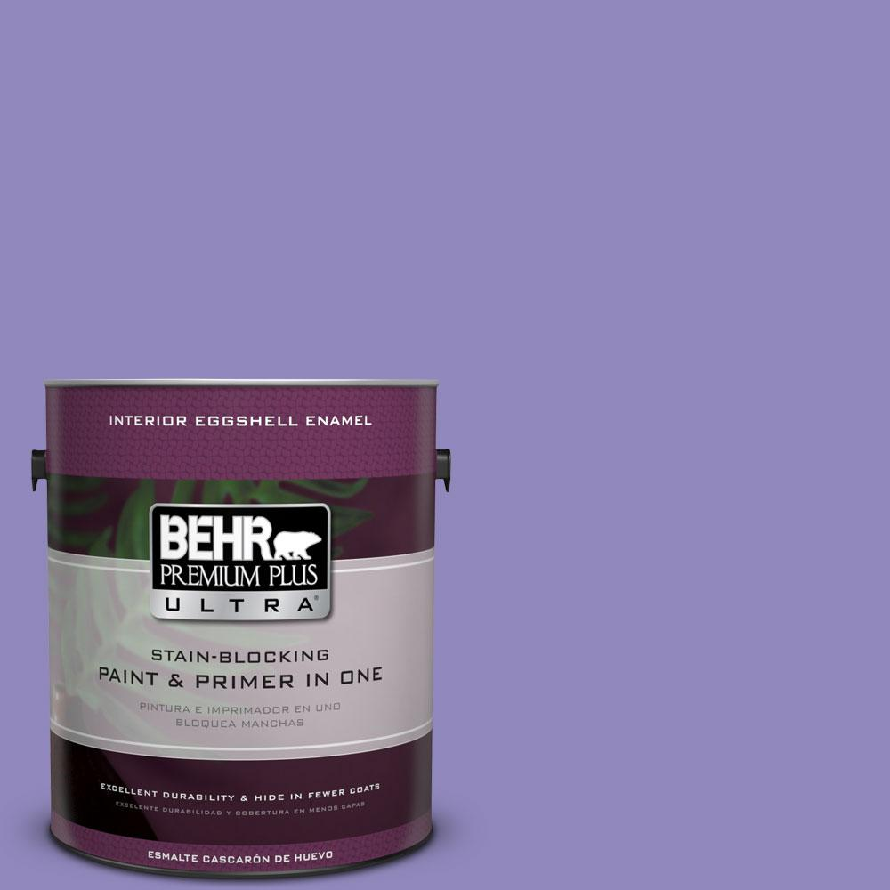 BEHR Premium Plus Ultra 1-gal. #630B-6 Butterfly Garden Eggshell Enamel Interior Paint