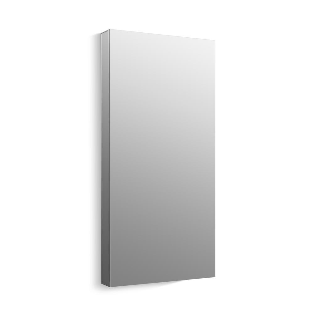 KOHLER Maxstow 20 in. x 40 in. Frameless Surface-Mount Aluminum Medicine Cabinet