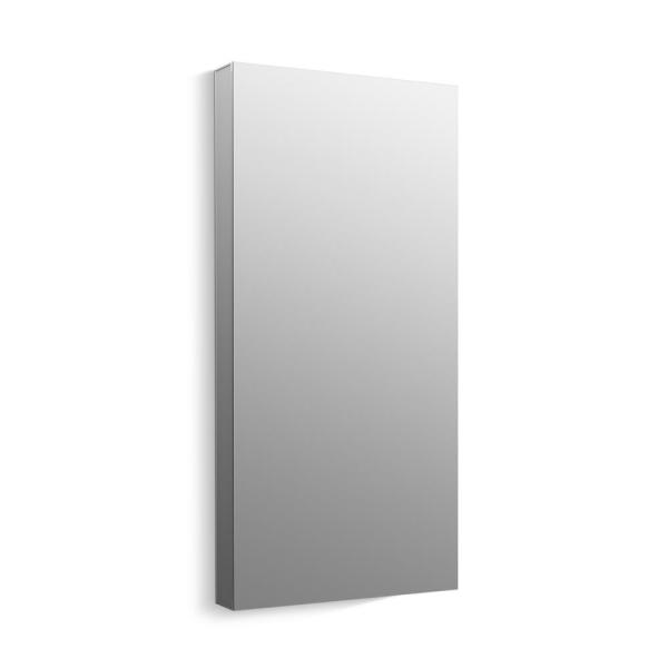 Maxstow 20 in. x 40 in. Frameless Surface-Mount Aluminum Medicine Cabinet