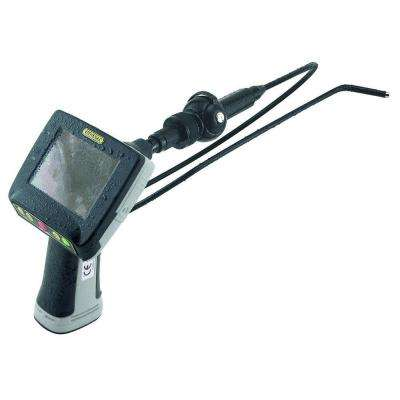 Waterproof Recording Video Inspection System with 5.5 mm Dia Close-Focus Articulating Probe