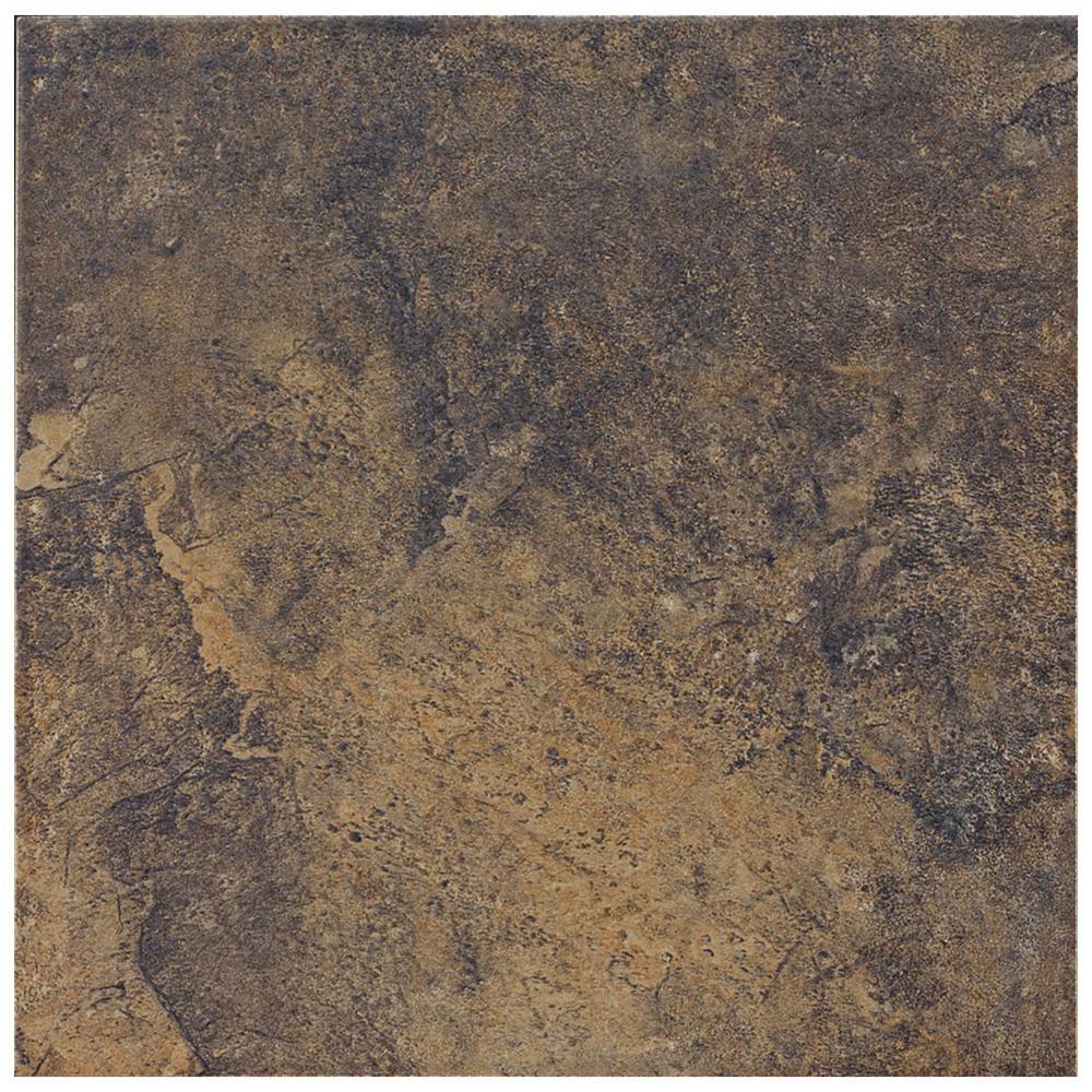 Florida Tile Taconic Slate Dark Rock 6 In X Porcelain Floor And Wall 10 83 Sq Ft Case