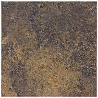 Taconic Slate Dark Rock 6 in. x 6 in. Porcelain Floor and Wall Tile (10.83 sq. ft. / case)