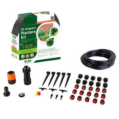 33 ft. Customizable Dripper Kit for Planter Pots