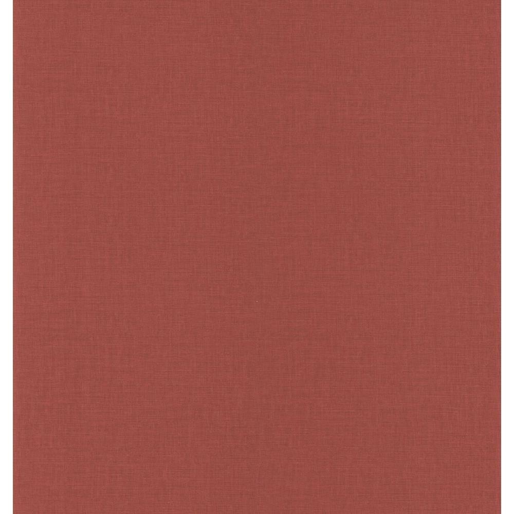 Red Linen Texture Wallpaper Sample