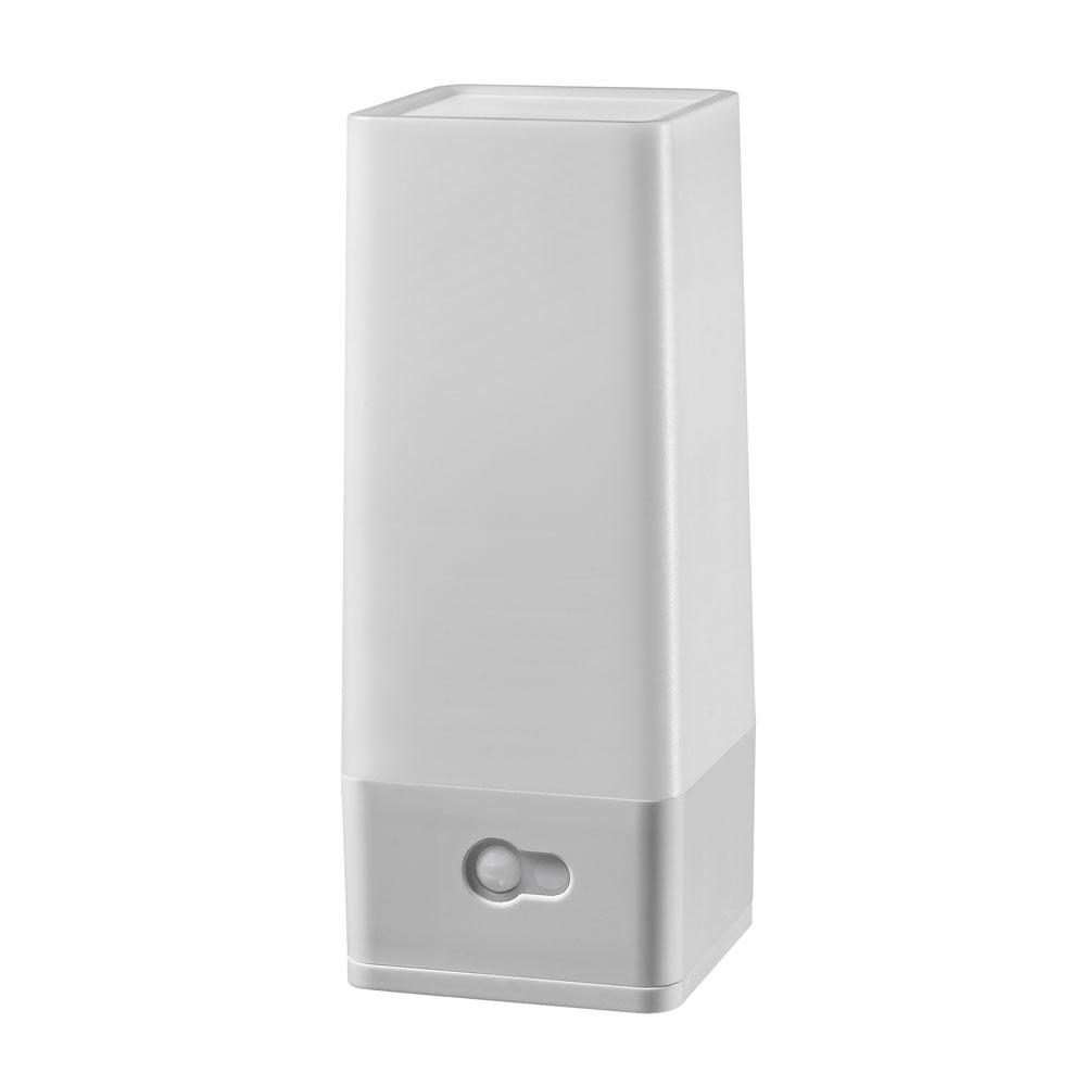 Acclaim Lighting Battery Operated Dove Gray LED Tower Night Light