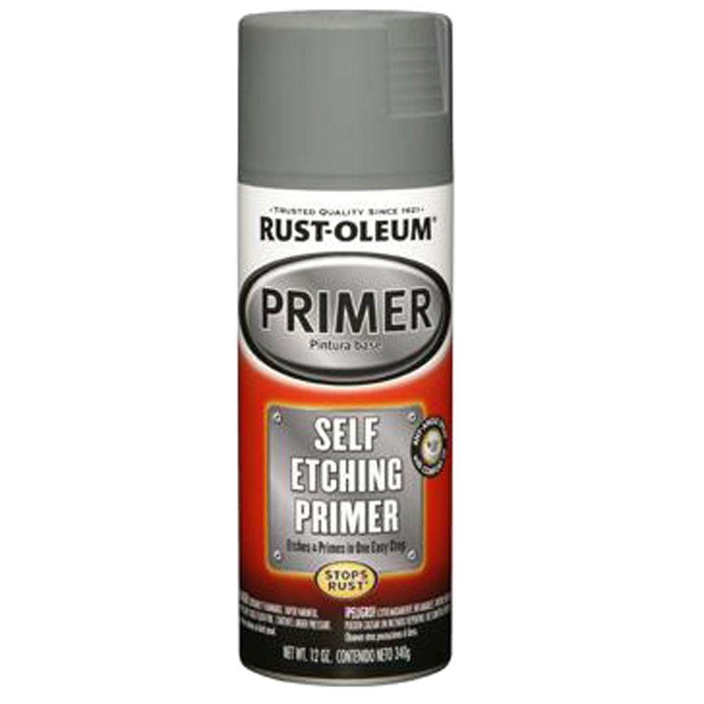12 oz. Flat White Clean Metal Primer Spray (3-Pack)