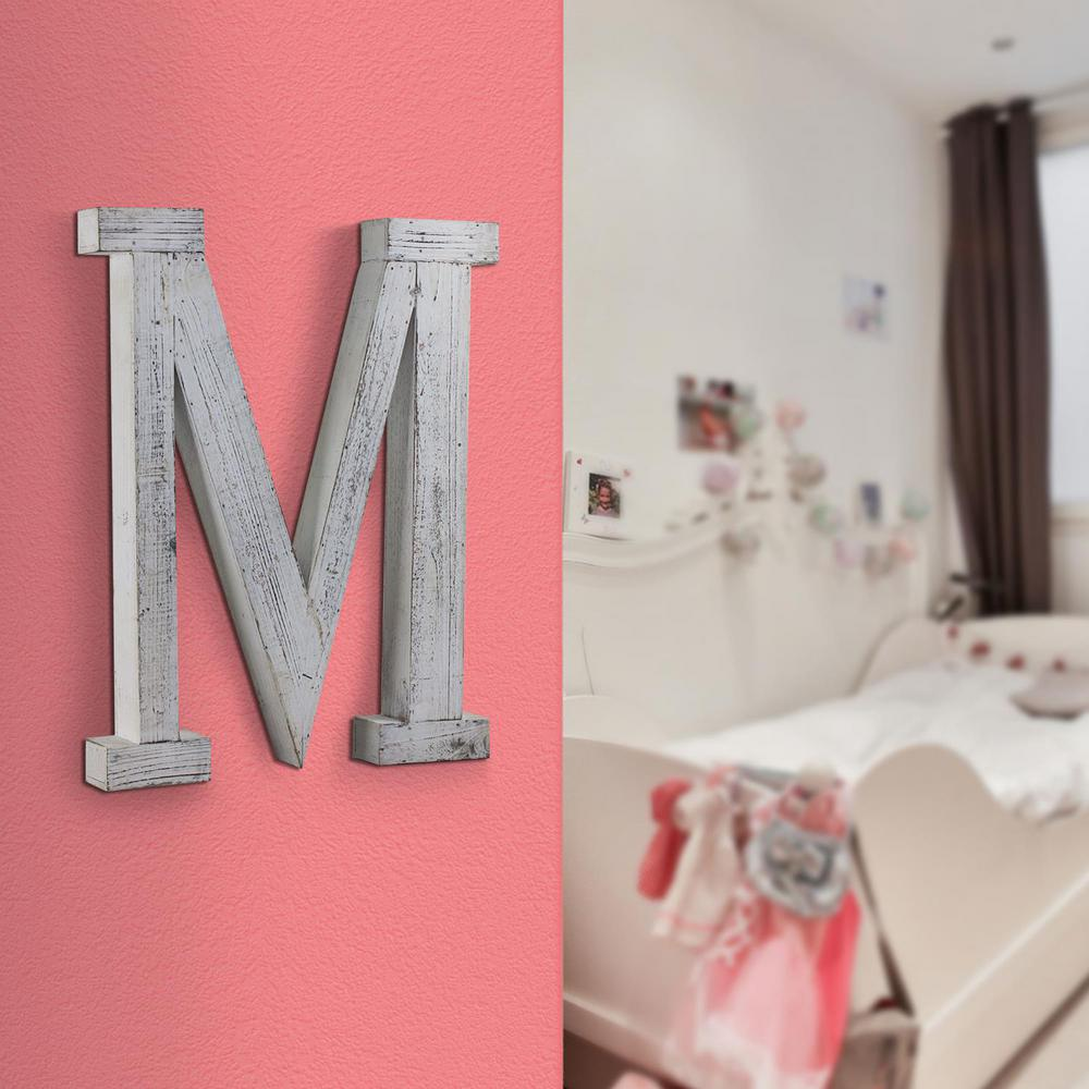 Crystal Art Gallery Wood Block Letter Hanging Initial