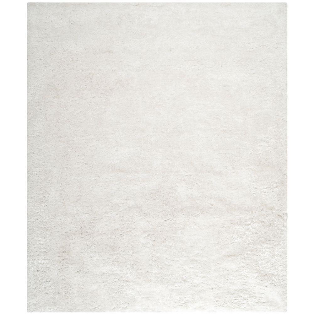 safavieh martha stewart shag pearl 8 ft x 10 ft area rug