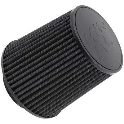 Universal Rubber Filter-Round Tapered 4.5in Flange ID x 8in Base OD x 6.625in Top OD x 8in H