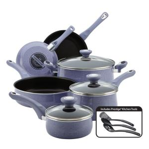 Farberware New Traditions 12-Piece Lavender Cookware Set with Lids by Farberware