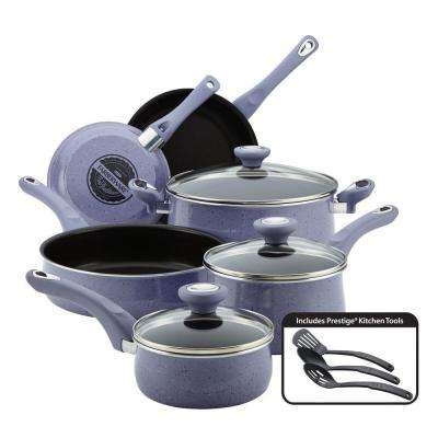New Traditions 12-Piece Lavender Cookware Set with Lids