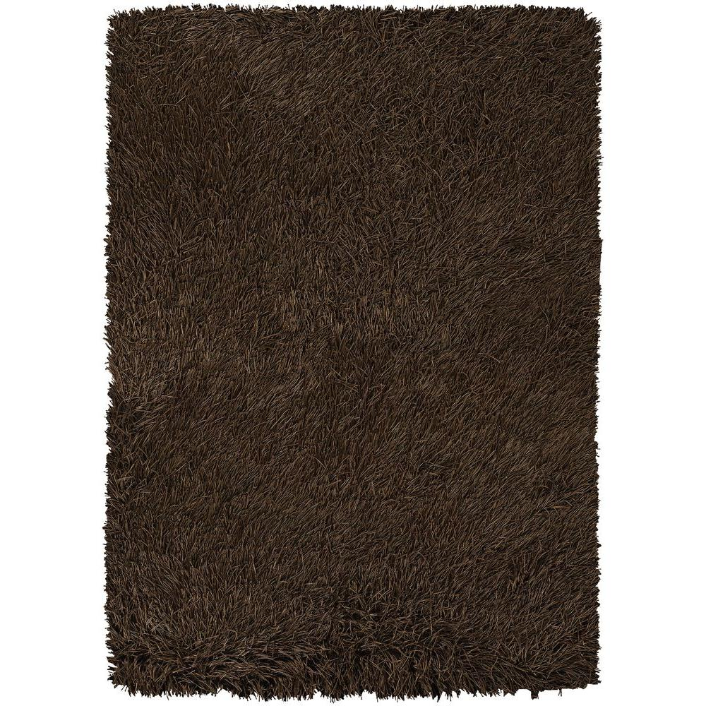 Chandra Poligan Brown 5 ft. x 7 ft. 6 in. Indoor Area Rug