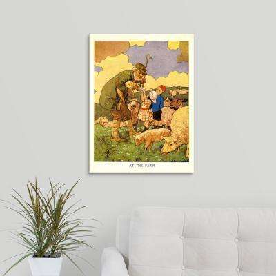 "18 in. x 24 in. ""UK Illustrations Book Plate"" by Advertising Archives Canvas Wall Art"