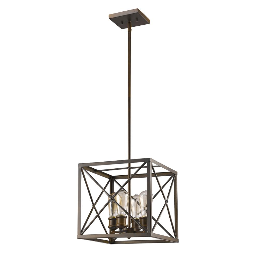 Acclaim Lighting Brooklyn Indoor 4 Light Oil Rubbed Bronze Pendant