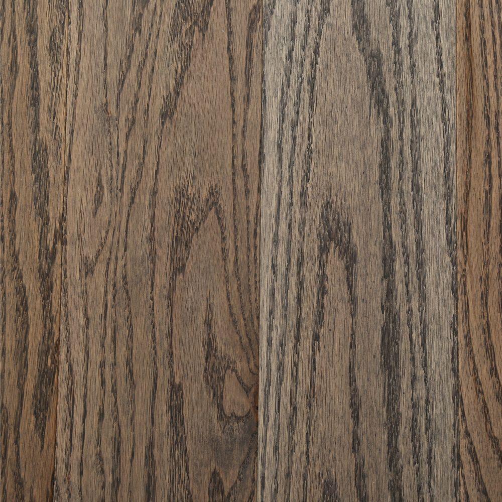 Bruce Coastal Gray Oak 3/4 in. Thick x 5 in. Wide x Random Length Solid Hardwood Flooring (376 sq. ft. / pallet)