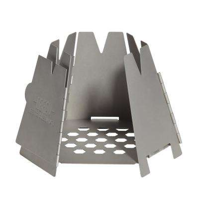 Titanium Hexagon Wood Stove